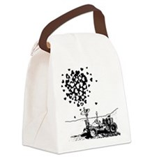 Lunar Rover Of Love Canvas Lunch Bag