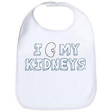 I Love My Kidneys Bib