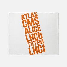 LHC Detectors Throw Blanket