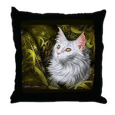 Cat Star Throw Pillow
