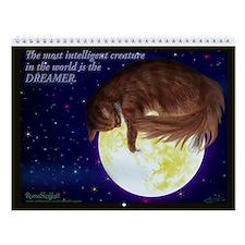 2011 Exclusive Norwegian forest cat Wall Calendar