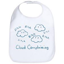 Cloud Complaining Bib
