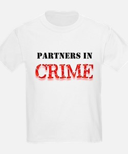 Partners in Crime Kids T-Shirt