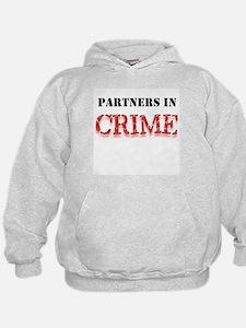 Partners in Crime Hoodie