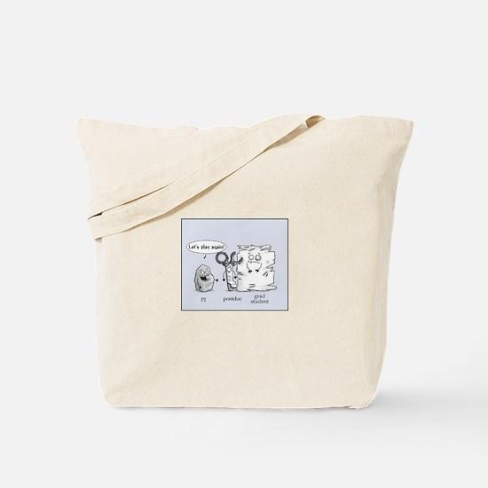 Paper Rock Scissors Tote Bag