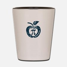 I love pi Shot Glass
