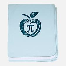 I love pi baby blanket