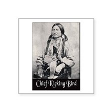 Chief Kicking Bird Sticker