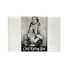 Chief Kicking Bird Rectangle Magnet