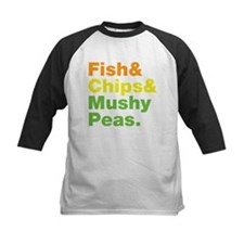 Fish and Chips and Mushy Peas. Tee
