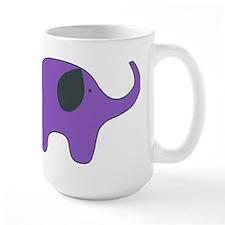 lone purple elephant Mug