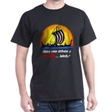 "B&Y ""Have You Driven a Fjord"" Black T-Shirt"