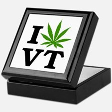 I Love Cannabis Vermont Keepsake Box