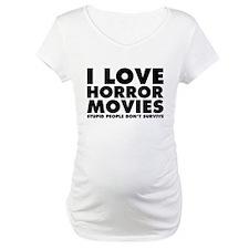 I Love Horror Movies Shirt