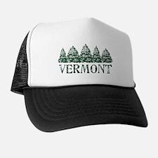 Cute Winter tree Trucker Hat