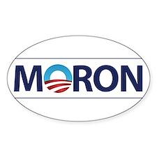 Obama Logo MORON Decal
