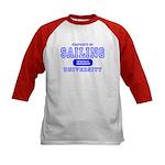 Sailing University Kids Baseball Jersey