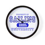Sailing University Wall Clock