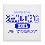 Sailing University Tile Coaster