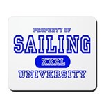 Sailing University Mousepad