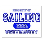 Sailing University Small Poster