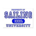 Sailing University Mini Poster Print