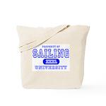 Sailing University Tote Bag