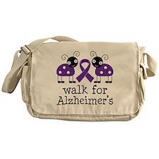 Walk For Alzheimer's Messenger Bag