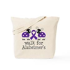 Walk For Alzheimer's Tote Bag