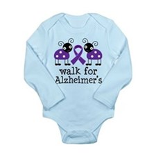 Walk For Alzheimer's Long Sleeve Infant Bodysuit