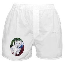 Westie Wonderland Boxer Shorts