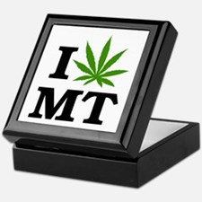 I Love Cannabis Montana Keepsake Box