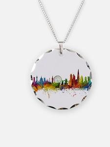 London England Skyline Necklace
