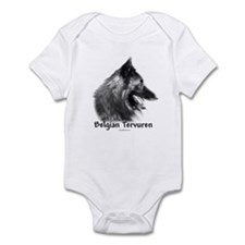 Tervuren Charcoal Infant Bodysuit