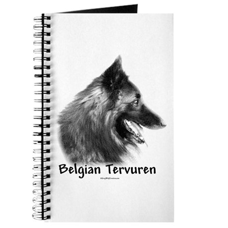 Tervuren Charcoal Journal