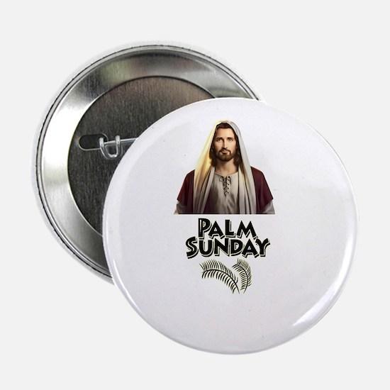 """Palm Sunday Jesus 2.25"""" Button"""