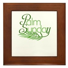 Palm Sunday Jesus Framed Tile