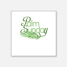 Palm Sunday Jesus Sticker