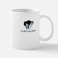 i'm not long Johnson Mug