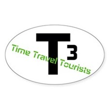 Time Travel Tourists Logo Decal