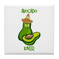 Avocado Lover Tile Coaster