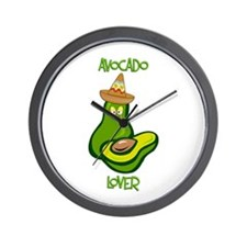 Avocado Lover Wall Clock