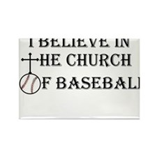 I believe in the church of baseball. Rectangle Mag