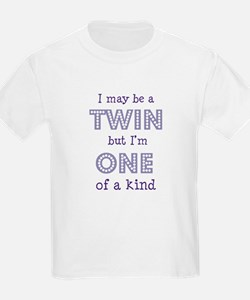 twin - one of a kind Kids T-Shirt