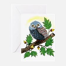 Art: Oak Tree Owl Greeting Cards (Pk of 10)