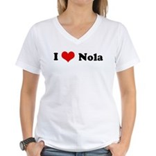 I Love Nola Ash Grey T-Shirt