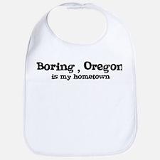Boring - Hometown Bib