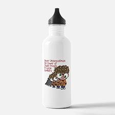 Stupid People Sports Water Bottle