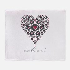 Love Mari Throw Blanket