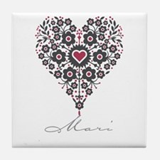 Love Mari Tile Coaster